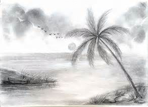 pencil scenery sketches drawing art library
