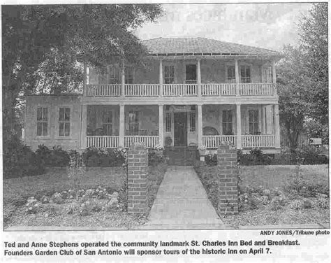 st charles bed and breakfast st charles hotel