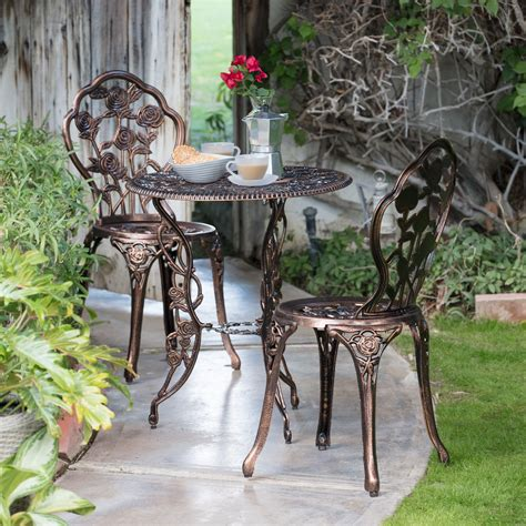 bistro set patio oakland living patio bistro set patio dining sets