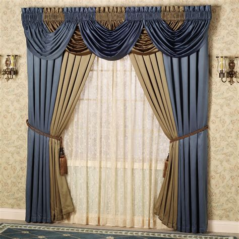 drapes with valance valance curtains bring personality to your home windows