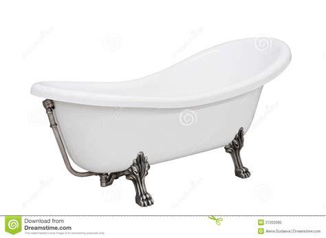bathtub with legs classic white bathtub with legs royalty free stock photo
