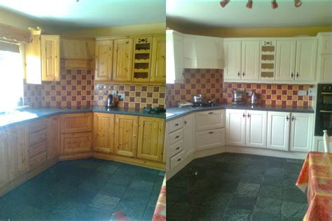 How To Clean Kitchen Cabinets Before Painting Before After References In Cork For Perfect Home