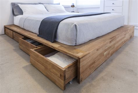 bed with storage space beds with storage space saving options for small rooms