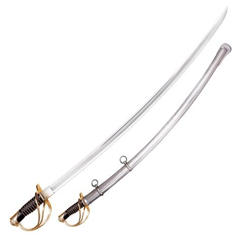 heavy saber cold steel 1860 u s heavy cavalry saber sword 88hcs