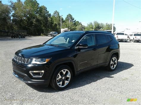 jeep compass limited black 2018 jeep compass limited in black pearl