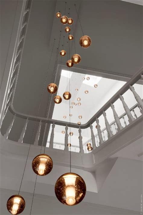 Stairwell Chandelier Lighting Bocci 14 Custom In Stairwell Contemporary Chandeliers