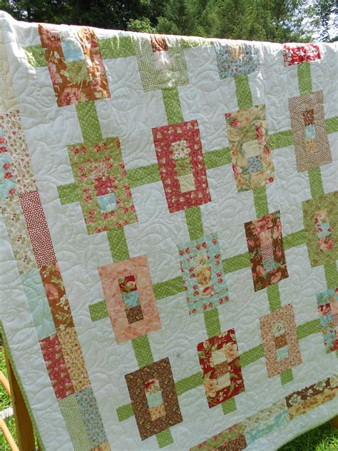 quilt pattern inwood garden jelly roll quilt pattern throw