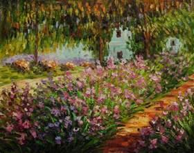 claude monet garten image gallery monet garden paintings