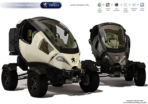 peugeot atv eco cars peugeot capsule electric atv keeps you