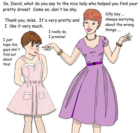 petticoat punishment deviantart sissy boy in dress cartoon