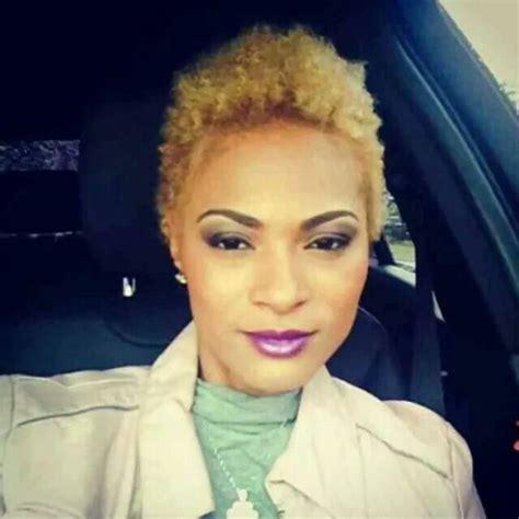 blonde twa blonde natural hair twa naturally thinking pinterest