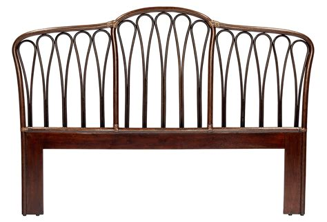 king rattan headboard cinnamon ella rattan headboard king from one kings lane