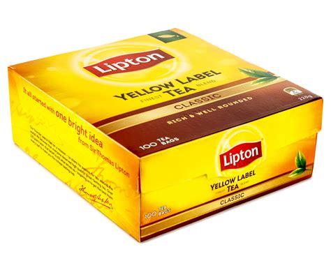 Teh Lipton Yellow Label catchoftheday au 2 x lipton lipton yellow label classic tea 100pk
