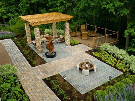 landscape backyard ideas garden backyard landscape design ideas pictures