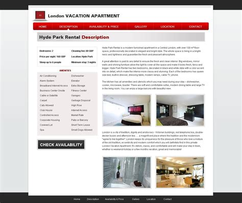 Free Vacation Rental Template 20 Holiday Home Template Phpjabbers Vacation Rental Website Template