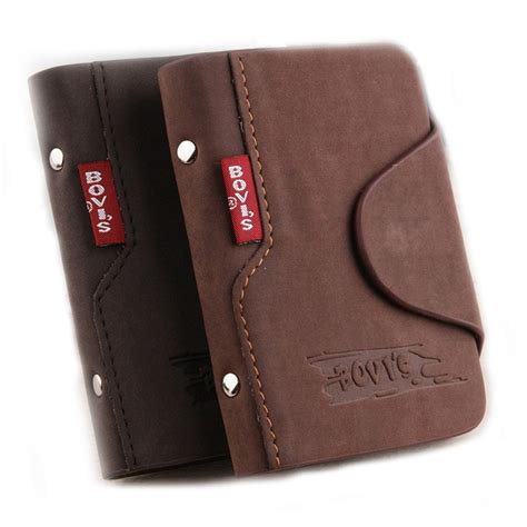 card bags 1pc genuine leather business cards holder credit card