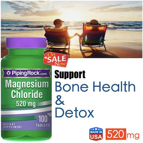 Magnesium Chloride Detox by Magnesium Chloride 520mg 100 Tabl End 11 26 2016 10 15 Pm