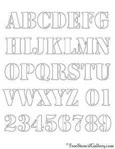 alphabet stencil free stencil gallery