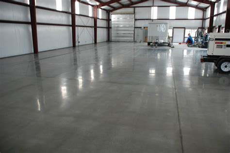 Polished Concrete with HTC SuperFloors?   Pristine Concrete