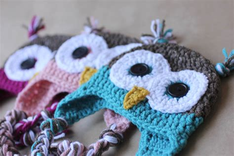 free printable crochet owl pattern crochet owl hat pattern repeat crafter me