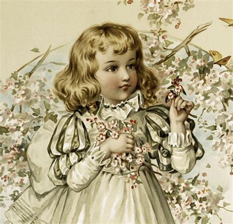 sweet  girl holding flowers image  graphics fairy