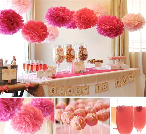 cute themes for girl baby shower kara s party ideas quot ready to pop quot baby shower kara s
