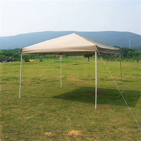 backyard canopy tent 10 x 10 feet outdoor steel frame pop up gazebo patio
