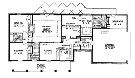 1600 square feet split bedroom floor plans 1600 square feet add to cart