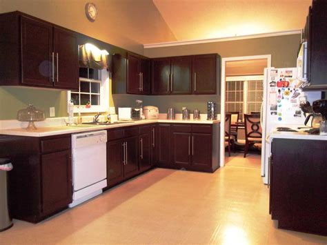 home kitchen cabinets kitchen cabinet transformation the home depot community
