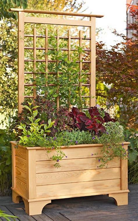 Privacy Planter by Diy Privacy Planter Home Design Garden Architecture