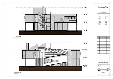 villa savoye section villa savoye revit model le corbusier 2014 update on behance