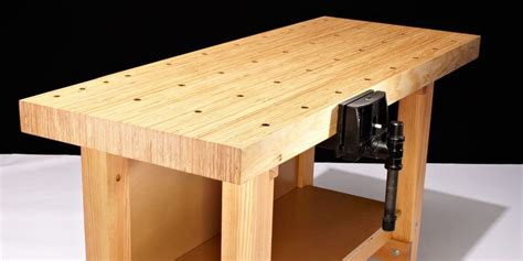 build a woodworking bench how to build this diy workbench