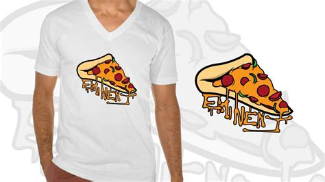 pizza pattern t shirt eminent pizza t shirt design by monsturr youtube