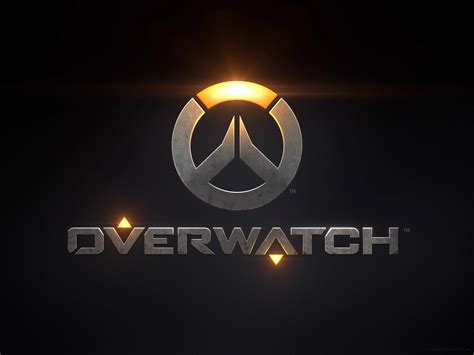 wallpaper logo game overwatch game logo hd games 4k wallpapers images