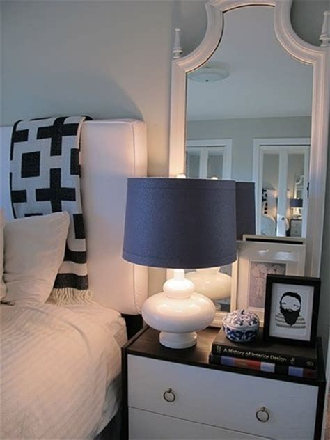 Mirrors Above Nightstands Leaning Mirror Above Nightstand Bedroom Ideas
