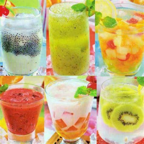 Lemari Es Minuman Dingin 9 resep minuman dingin segar ala cafesirup tjolay