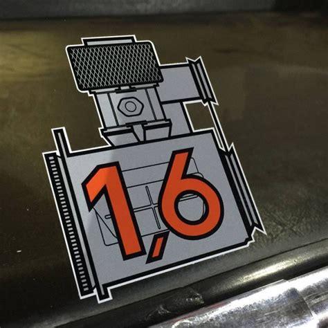 Porsche Aufkleber by Porsche 1 6 Sticker