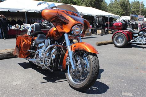 Polo Harley Davidson For Bikers Original Hd Touring custom harley davidson editorial image image of paint
