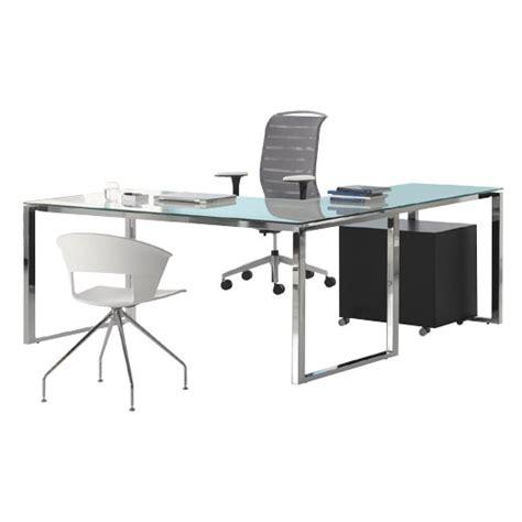 Chrome Office Desk L4p Lpo Lev Desk System Guialmi Office Furniture