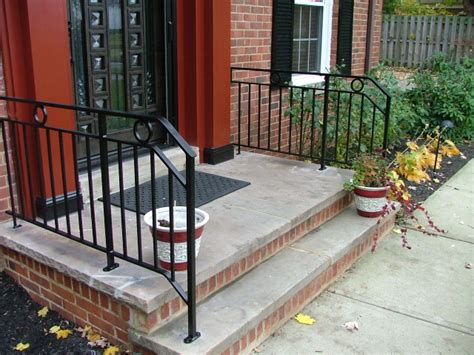 Front Door Railings Stairs Awesome Outside Step Railings Outside Step Railings Outdoor Stair Railing Kit Brick