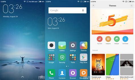 themes for redmi note 3g xiaomi releases miui 7 global beta rom 5 8 22 ota for a