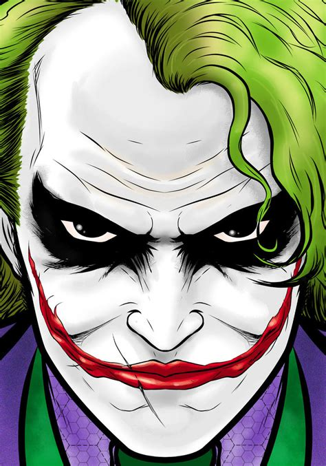 cartoon wallpaper portrait joker movie portrait series by thuddleston on deviantart