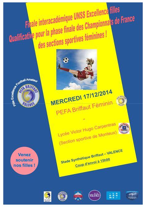 U De M Calendrier 2014 Finale Interacad 233 Mique Unss Excellence Filles Pefa