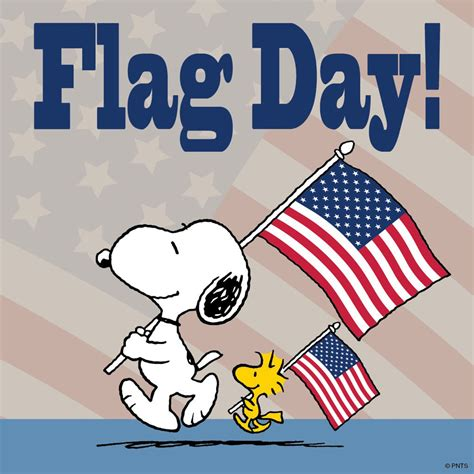 brown day peanuts on quot today is flag day https t co