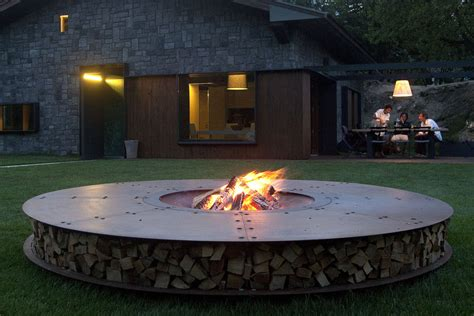 Large Firepit Pit Ideas By Ak47
