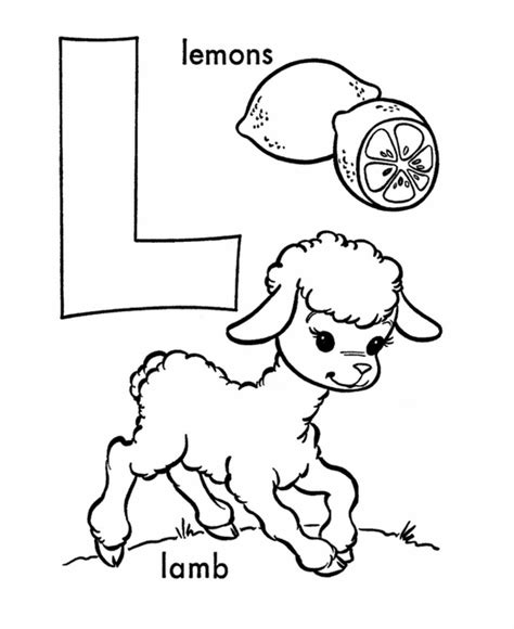 L Coloring Pages For Preschoolers by Letter L Activities And Coloring Pages Mfw Kindergarten