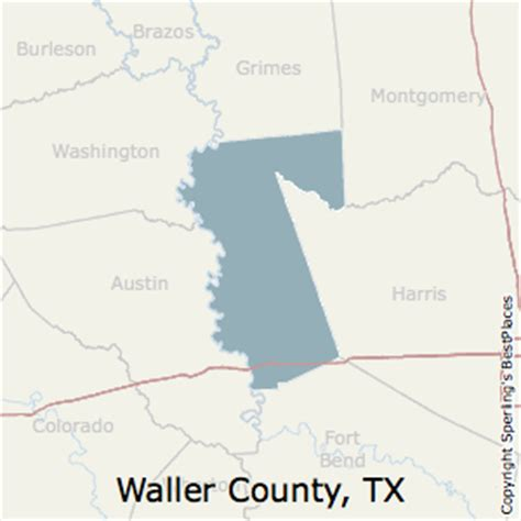 waller county texas map best places to live in waller county texas