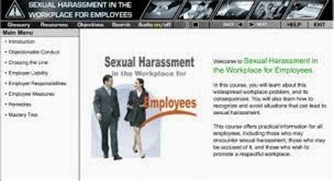gangguan seksual di tempat kerja dan penyelesaiannya