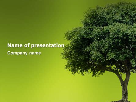 Desert Trees Free Powerpoint Template Backgrounds 06565 Poweredtemplate Com Powerpoint Tree Template