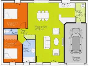 plan de maison en bois plein pied gratuit